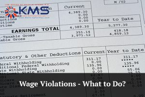 Wage Violations