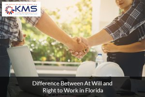 At-will state and Right-to-work in Florida